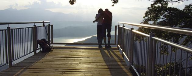 Millstätter See Höhensteig_Sternenbalkon