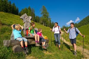 Wandern mit Kind und Kegel am Salzburger Almenweg