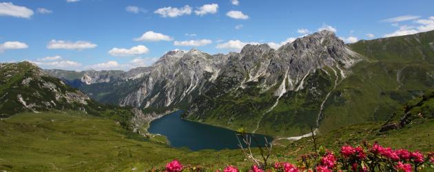 Weitwandern entlang des Salzburger Almenwegs - Tappenkarsee (c) TVB Großarltal