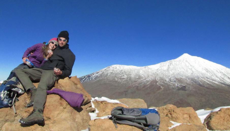 """Laura (14) und ihr """"Papsi"""" Michael (36), die aus dem Fichtelgebirge stammen. Daher auch der Name WAFI: Wanderungen und Abenteuer im Fichtelgebirge."""