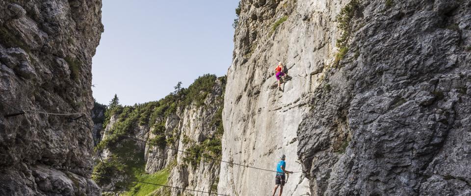 Klettersteig Klamml_Wilder Kaiser_Foto Peter von Felbert (48)