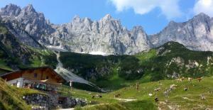 Weitwandern und Wandern Wilder Kaiser Kaiserkrone Tirol (c) Bild: TVB Wilder Kaiser