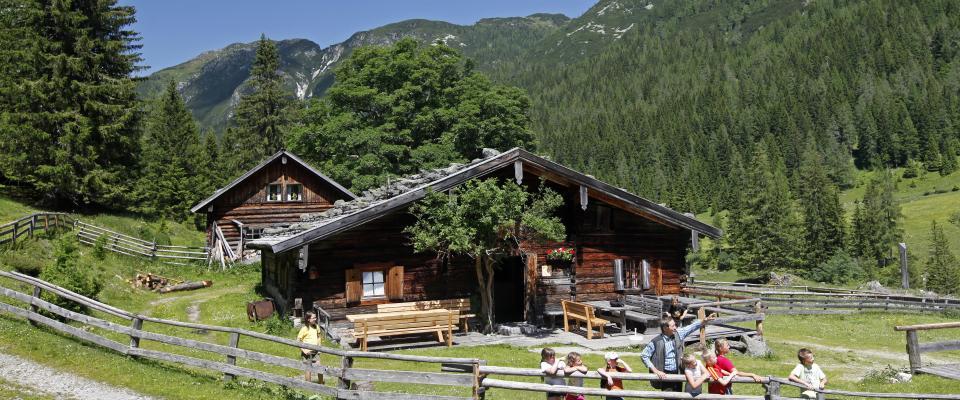 Weitwandern Salzburger Almenweg (c) Raffalt - Salzburger Land Tourismus