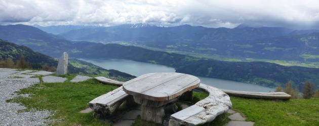 Weitwanderweg Millstätter See Aussicht Sommer Trekking