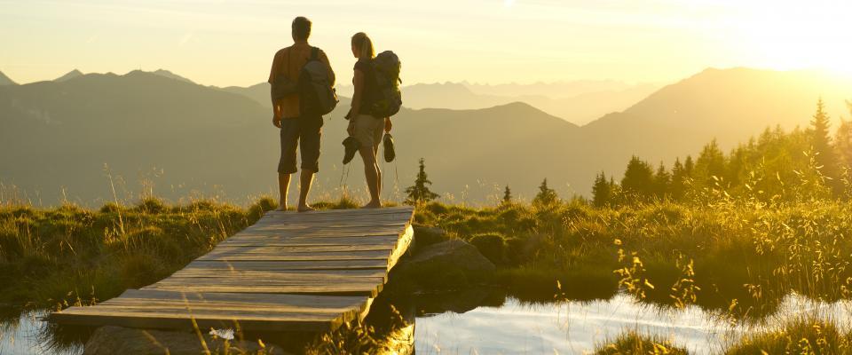 Weitwandern Alpe-Adria-Trail-Franz GERDL Kärnten Werbung