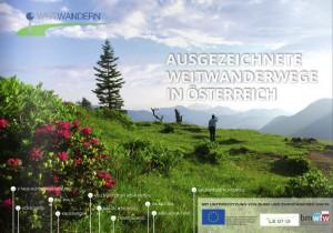 """Weitwandern - Beileger """"Bergsteiger"""" & """"Outdoor"""". (c) Bild: Martin Marktl"""