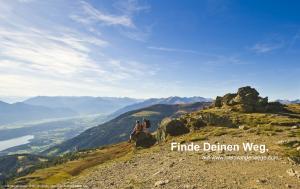 Weitwandern Alpe-Adria-Trail & Millstätter See Höhensteig. (c) Kärnten Werbung (F. Gerdl)