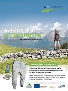 Faszination Weitwandern - Gewinnspiel SteirerJogger - Beitragsbild: (c) Kitzbüheler Alpen - Weitwandern entlang des KAT-Walks.