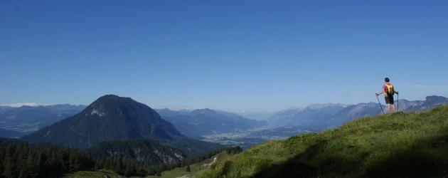 Weitwandern Wilder Kaiser Kaiserkrone Hüttenwanderung Tirol Anne Gabl
