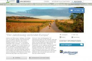 Virtueller Jakobsweg - Hauptweg. Pilgern in Österreich.