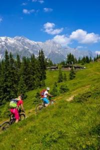 Mountainbiken Hochkönig, weitwandern