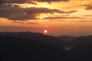 Sonnenaufgang am Goldeck Weitwandern Millstätter See