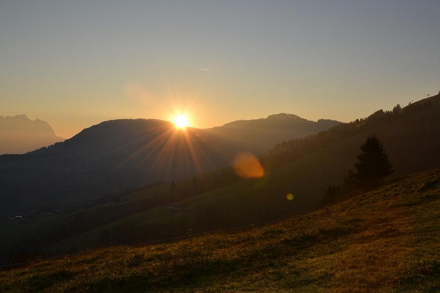 Sonnenaufgangswanderung Kitzbühler Alpen Weitwandern