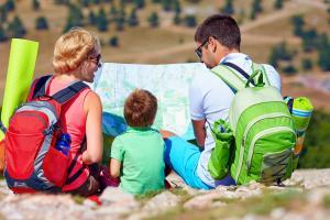 Weitwandern Familienwandern