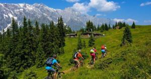 mountainbiken am hochkönig, weitwandern