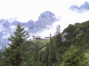 Weitwandern Gruttenhütte am Wilden Kaiser (c) Bianca Morawetz