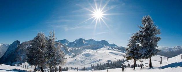 Winter im Salzburger Saalachtal (c) TVB Lofer