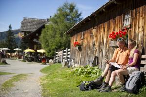 Weitandern & Wandern am Alpe Adria Trail in Kärnten, Slowenien und Italien - Gmünd (c) Kärnten Werbung/Franz Gerdl