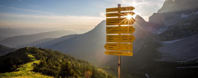 Weitwanderwege, Mehrtages-Touren und Fernwanderwege in Österreich (c) Coen Weesjes