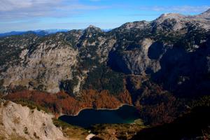 Weitwandern Bischofsmütze Salzburg - hinterer Gosausee (c) TVB Filzmoos