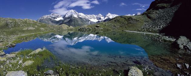 Hochalpines Weitwandern am Ötztal Trek in Tirol - der Wannenkarsee (c) Ötztal Tourismus
