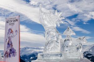 Art on Snow Eisskulpturen (c) Gasteinertal Tourismus