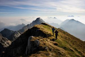 Wandern und Weitwandern am Panoramaweg Südalpen (c) Carnica Region Rosental - Wolfgang Ehn