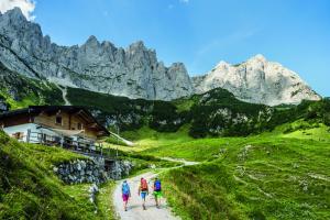 Wandern Weitwandern_Wilder Kaiser_Foto von Felbert_Reiter