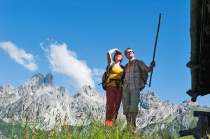 Wandern und Weitwandern in Österreich. Salzburg. Region Filzmoos - Bischofsmütze (c) Coen Weesjes