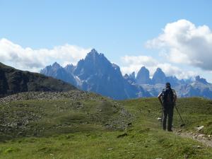 Blick in die Sextner Dolomiten