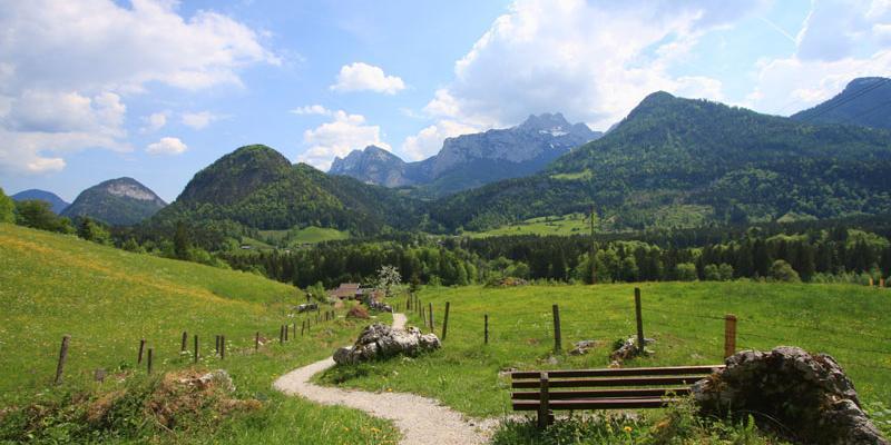 Wandern und Weitwandern im Salzburger Saalachtal Wanderwege (c) TVB Lofer