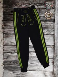 schwarz_grün Jogger