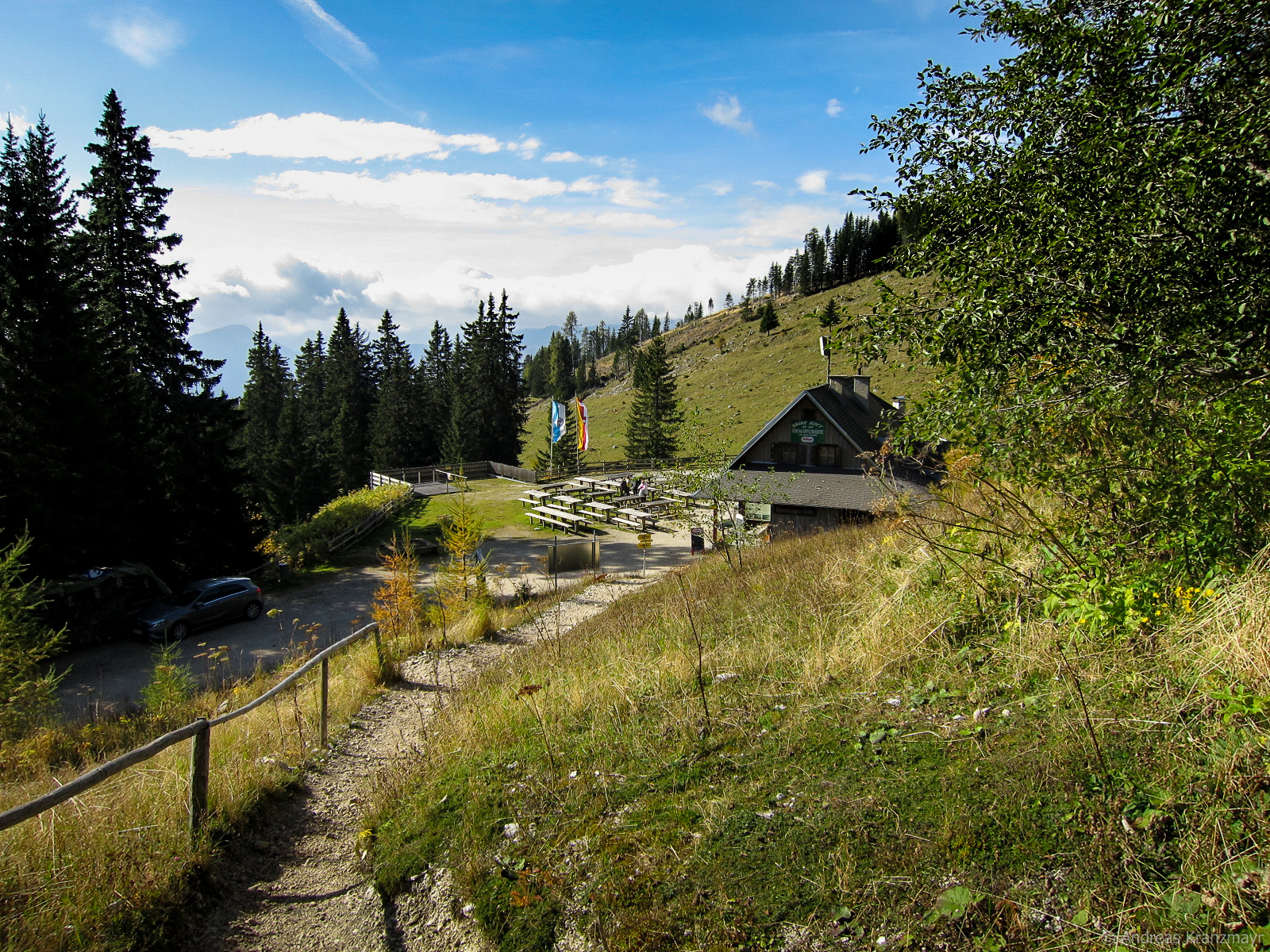 Die Eisenkapplerhütte erreicht man am Ende der Etappe 6, welche eine etwas leichtere Etappe zu erwandern ist.