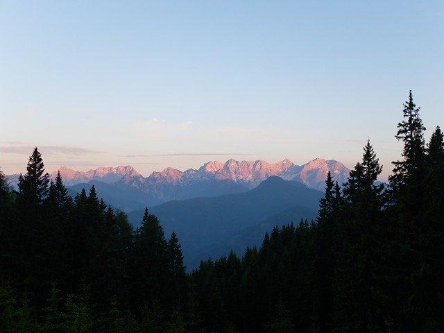 Impressionen am Panoramaweg Südalpen