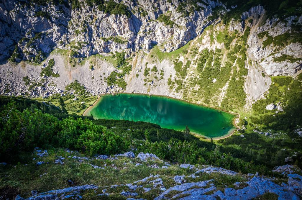 Silberkarsee vom Dachstein Rundwanderweg fotografiert