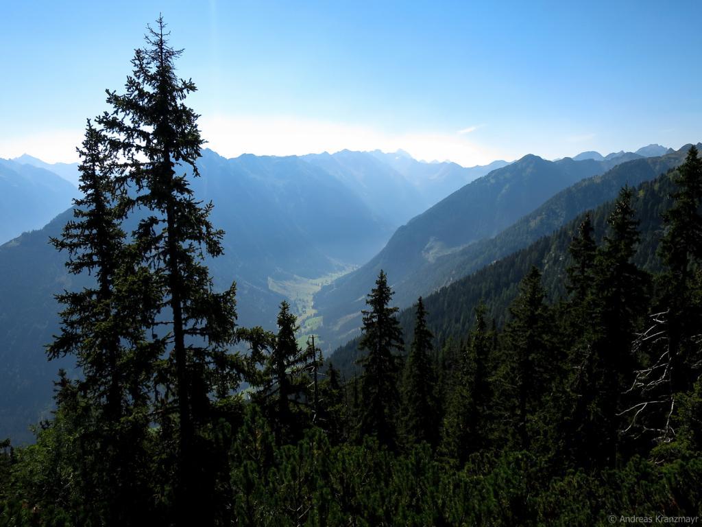 Die schöne Aussicht ins Tal