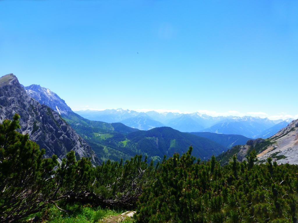 Impression von der umliegenden Bergwelt