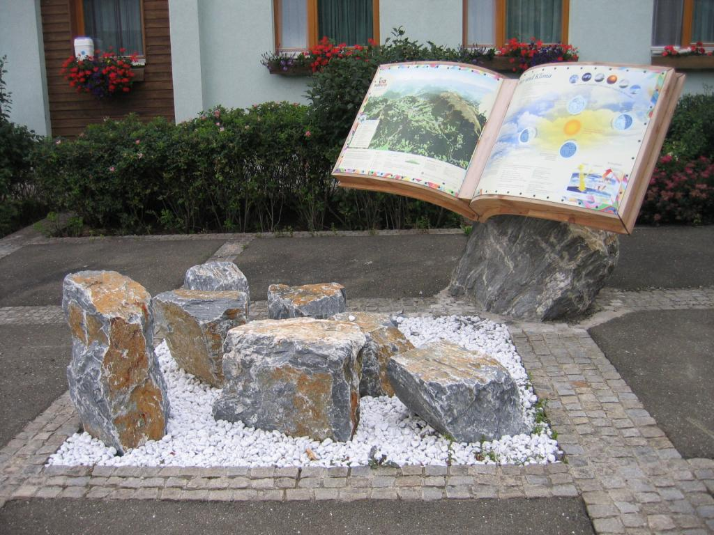 """Etappenstart 7 beim Naturlesebuch in Perchau, Thema ist hier """"Wetter und Klima"""""""