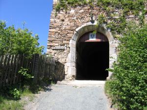 Ankunft bei der Ruine Dürnstein und natürlich wird diese auch besucht