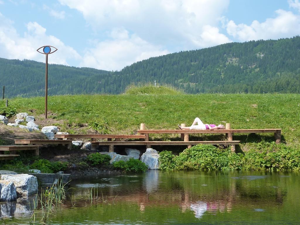 Eine kurze Rast bei der Ursprungsquelle einlegen, © Naturpark Zirbitzkogel-Grebenzen