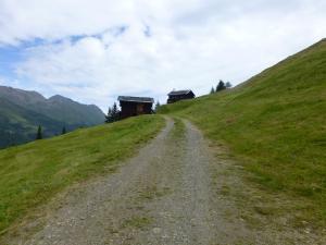 Die Hirtenhütte ist zu erkennen
