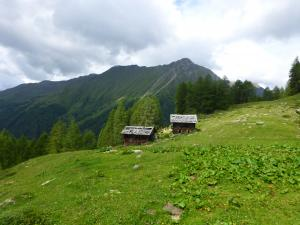 Die Sommerwandhütte auf der Sommerwandalm