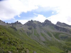 Die Berge immer im Blick....
