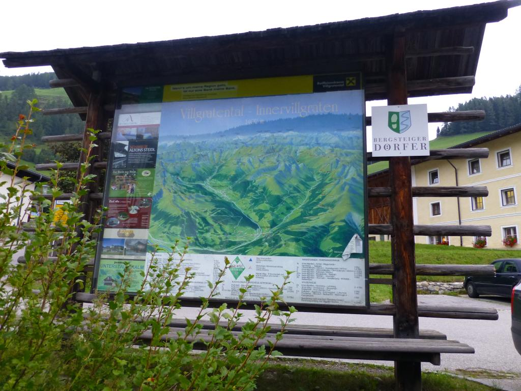 Wanderstartplatz der Etappe 4
