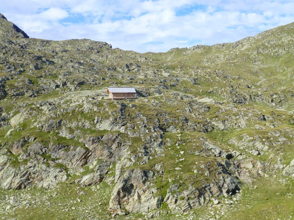 Von weiten schon zu erkennen: Zöberst-Villgraten auf 2.500 m Seehöhe