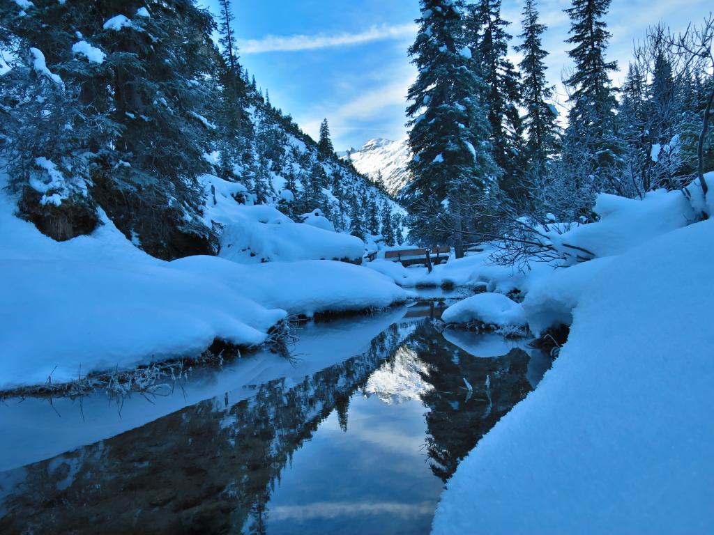 Lechweg im Winter_Lech am Arlberg, © Karmen Nahberger