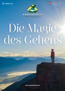 Titelbild Österreichs Wanderdörfer, Die Magie des Gehens
