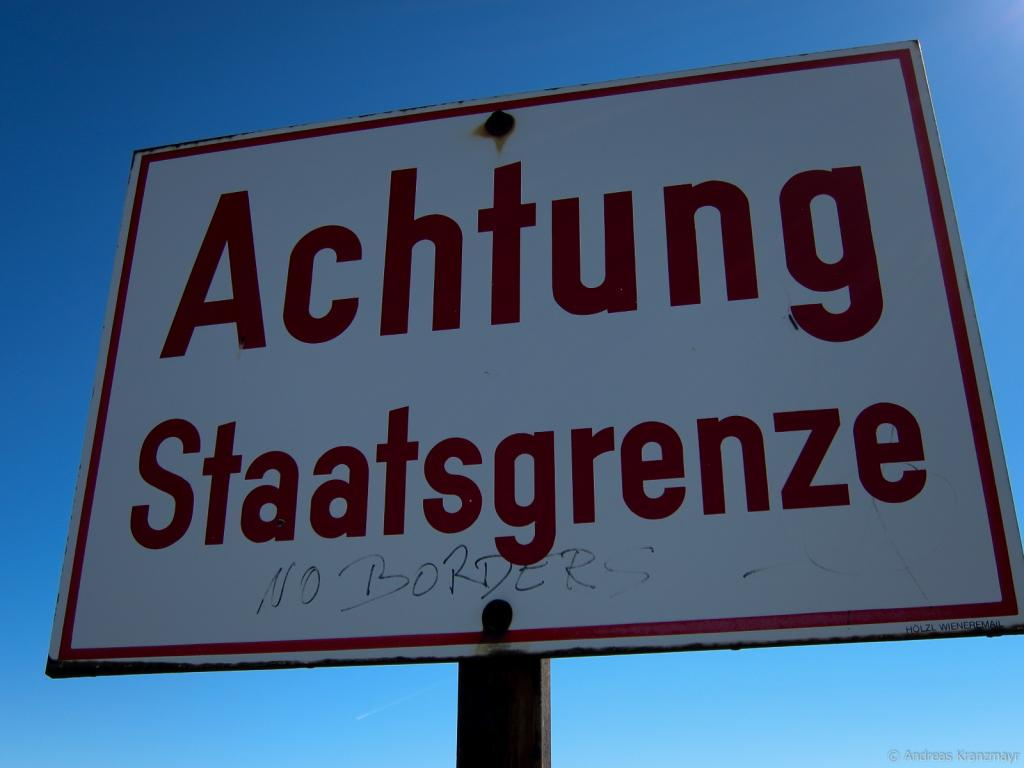 Staatsgrenze, © Andreas Kranzmayr