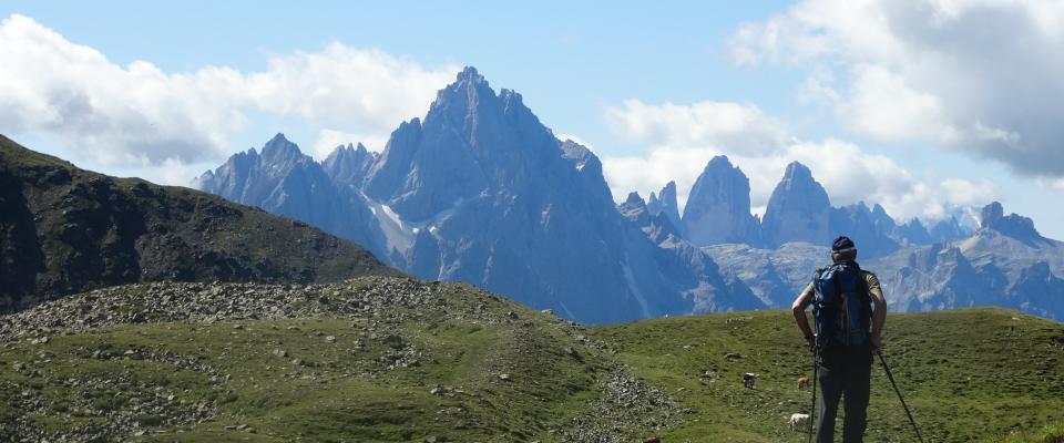 Blick in die Sextner Dolomiten@Franz Bergmann