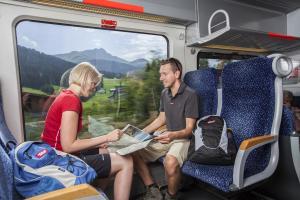 Mobilität Kitzbüheler Alpen Zug, © Ehammer Christina